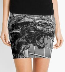 panther statue Mini Skirt