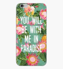 YOU WILL BE WITH ME IN PARADISE (Luke 23:43) iPhone Case