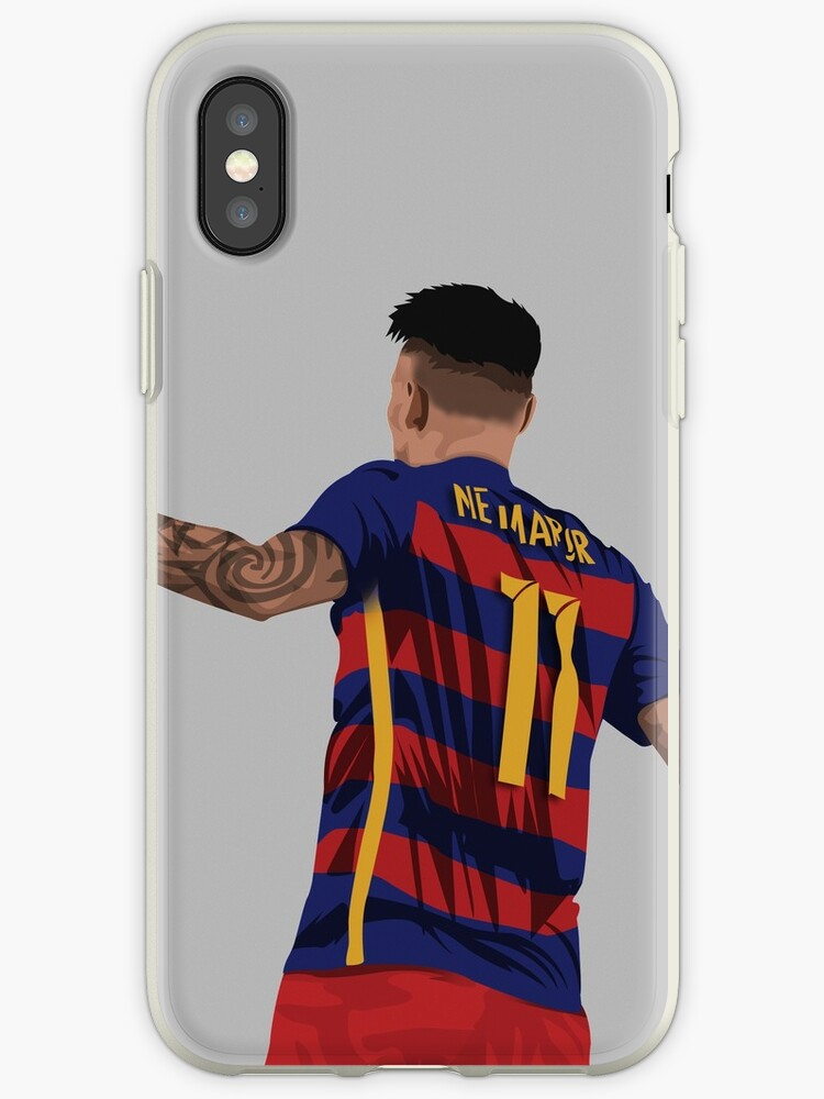 eaca085d428c1 'Neymar' iPhone Case by siddick49