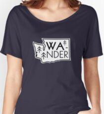 Wander Washington Women's Relaxed Fit T-Shirt