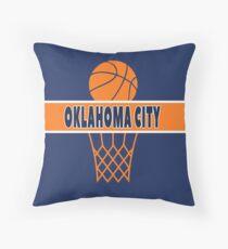 Oklahoma City Throw Pillow