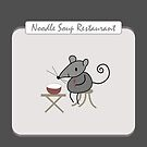 Noodle Shop Restaurant by amak