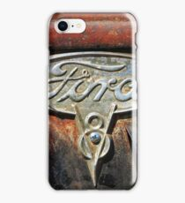 Old Ford Emblem Graphic Shirt 2 iPhone Case/Skin