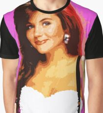 Kelly Kapowski Portrait Fan Art Graphic T-Shirt