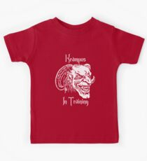Krampus in Training Kids Tee