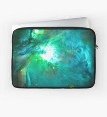 Orion Nebula [Green] | Fresh Universe Laptop Sleeve