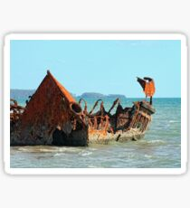"Wreck of the ""Carpentaria Light Ship"" #2 Sticker"