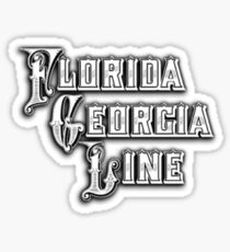 Florida Georgia Line Logo Sticker