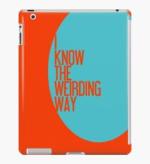 The Weirding Way iPad Case/Skin