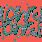 Floral Riot - Green by Geckojoy