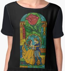 Beauty and The Beast - Stained Glass Chiffon Top