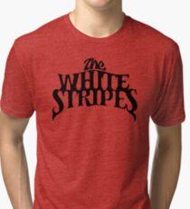 White Stripes Tri-blend T-Shirt