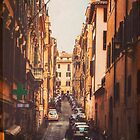 Narrow Streets of Rome by Bronwyn Bell