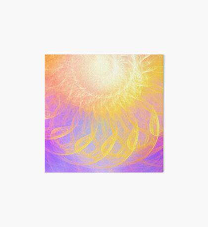 Sunny #Fractal Art Art Board Print