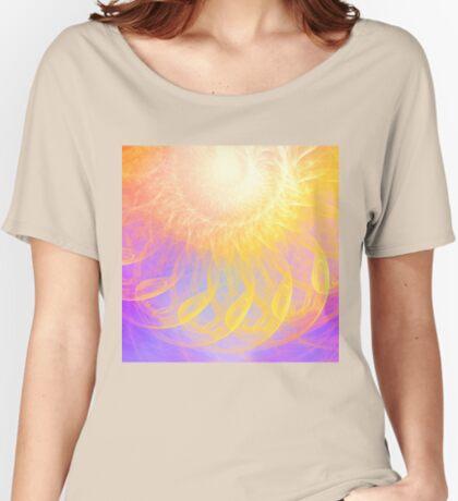 Sunny #Fractal Art Relaxed Fit T-Shirt