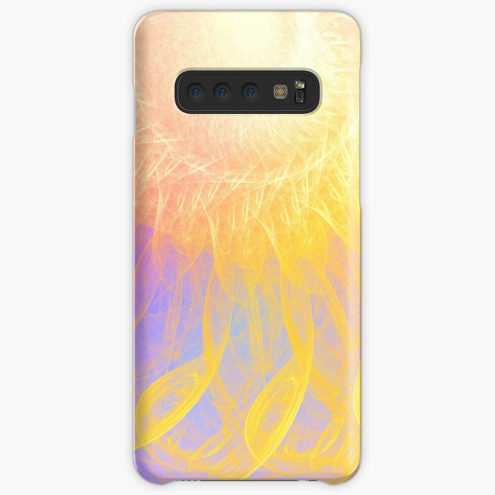 Sunny #Fractal Art Case & Skin for Samsung Galaxy