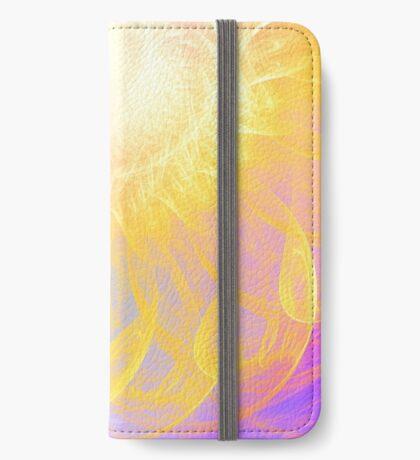 Sunny #Fractal Art iPhone Wallet