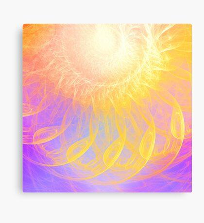 Sunny #Fractal Art Canvas Print