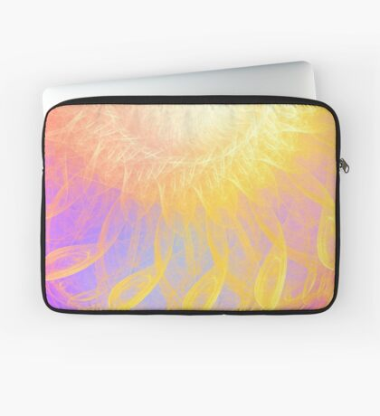 Sunny #Fractal Art Laptop Sleeve