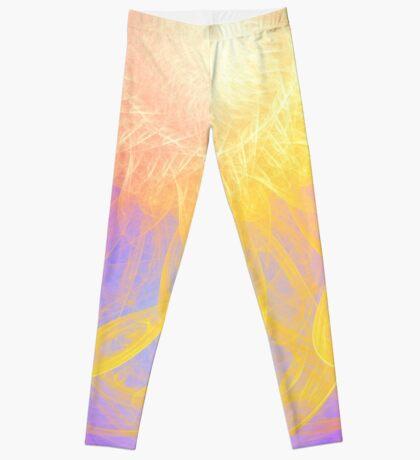 Sunny #Fractal Art Leggings
