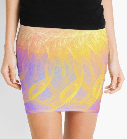 Sunny #Fractal Art Mini Skirt