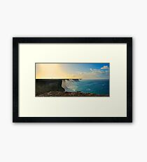 The Great Australian Bight. Framed Print