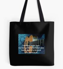 A Worship Leaders Heart Tote Bag