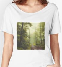 Long Forest Walk Women's Relaxed Fit T-Shirt
