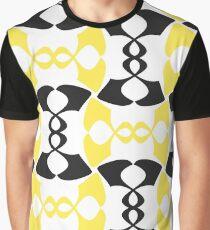 Memphis Design Pattern. Retro Fashion Print. Graphic T-Shirt