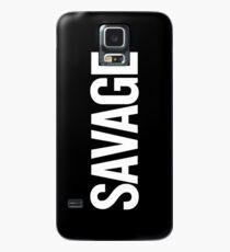 Wilder (Weiß) Hülle & Klebefolie für Samsung Galaxy