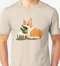 Christmas Corgi Unisex T-Shirt