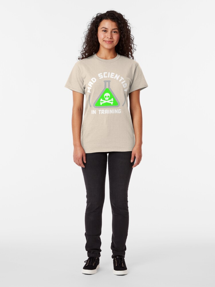 Alternate view of Mad Scientist in Training Classic T-Shirt