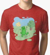 Good Morning, Mr. Creeper! Tri-blend T-Shirt