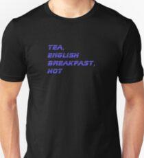 Tea, English Breakfast, Hot Mug Sticker Unisex T-Shirt