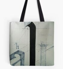 typography one Tote Bag