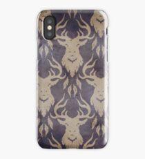 Nightmare Stag Purple iPhone Case/Skin