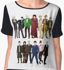Doctor Who - The 13 Doctors Chiffon Top