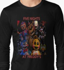 FNAF 2 animatronics Long Sleeve T-Shirt