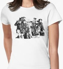 The Many Faces of.... Women's Fitted T-Shirt