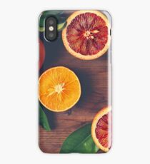 Still Life with Ripe Juicy Citrus Fruits iPhone Case