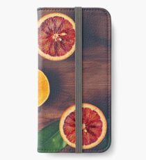 Still Life with Ripe Juicy Citrus Fruits iPhone Wallet/Case/Skin