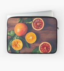 Still Life with Ripe Juicy Citrus Fruits Laptop Sleeve