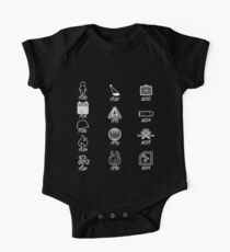 U2 discography icons One Piece - Short Sleeve