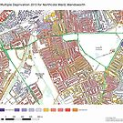 Multiple Deprivation Northcote ward, Wandsworth by ianturton