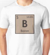 The Periodic Table - Boron Unisex T-Shirt