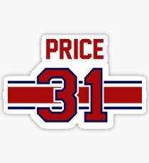 Carey Price - RED Sticker