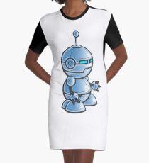Robot! Graphic T-Shirt Dress