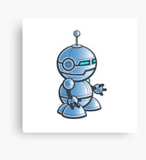 Robot! Canvas Print