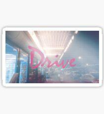 Drive Movie Poster Sticker