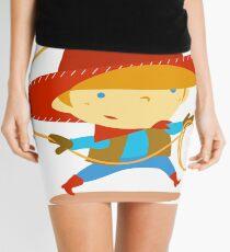 Cowboy Mini Skirt